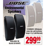Bose Environmental Speakers - $299.99/pair