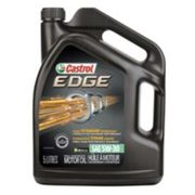 Castrol Edge Synthetic Motor Oil, 5-l - $32.99 ($27.00 Off)