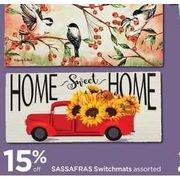 Sassafras Switchmats - 15% off