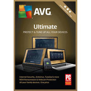 AVG Ultimate 2018, Unlimited Devices, 1 Year - $39.99 ($40.00 off)