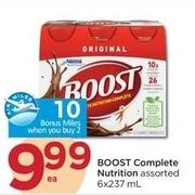 Boost Complete Nutrition - $9.99