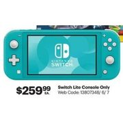 Nintendo Switch Lite - $259.99