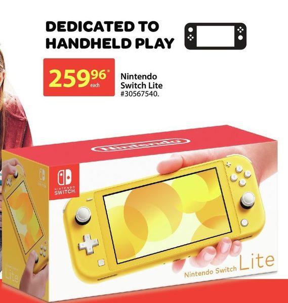 Walmart Nintendo Switch Lite Redflagdeals Com