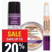 Covergirl Simply Ageless Foundation or Concealer - Up to 20% off