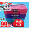 Alokozay Soft Facial Tissues - $2.99 ($3.00 off)