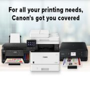 Canon: Printers from $29.99