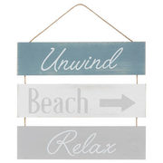 Unwind, Beach And Relax Wall Art - $13.99 ($11.00 Off)