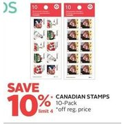 Canadian Stamps - 10% off