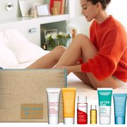 Clarins: Get a Free 7-Piece Gift Set With Any $100 Purchase + FREE Shipping!