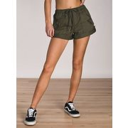 Volcom Womens Stash Short - Olive - Clearance - $40.00 ($15.00 Off)