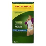 Always Discreet, Poise, Depend Or Tena Value Packs  - $24.97