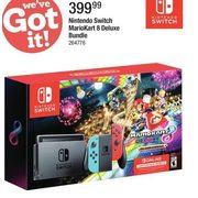 Nintendo Switch MarioKart 8 Deluxe Bundle - $399.99